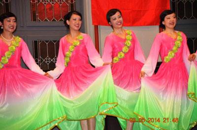 Deutsch-Chinesischer Gala-Ball in der Aula Sulzbach
