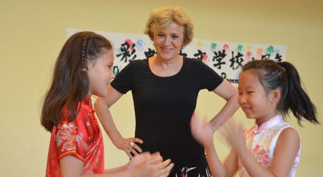 Charlotte Britz: 10 Jahre Chinesische Schule