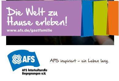 AFS - Gastfamilien gesucht