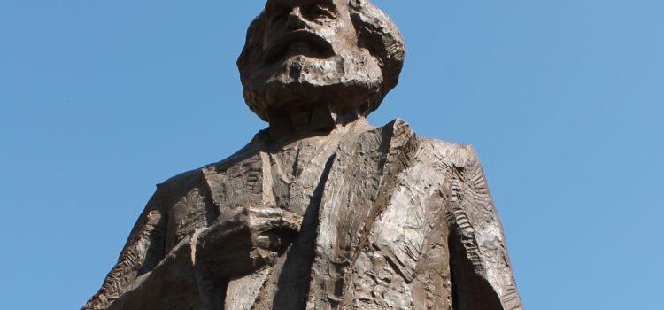 DCG Saarbrücken bei der Enthüllung der Karl-Marx-Statue in Trier